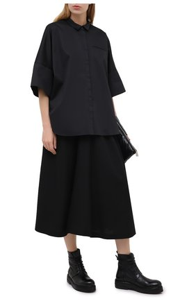 Женские кожаные ботинки MARSELL черного цвета, арт. MW5191/PELLE VITELL0 | Фото 2