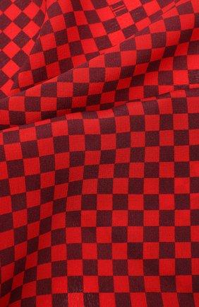 Мужской шелковый платок LANVIN красного цвета, арт. 3824/HANDKERCHIEF | Фото 2