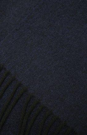 Мужской кашемировый шарф LANVIN темно-синего цвета, арт. 5300/SCARF | Фото 2