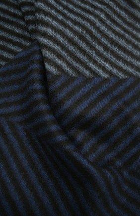 Мужской кашемировый шарф LANVIN синего цвета, арт. 5306/SCARF | Фото 2