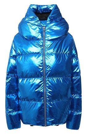 Женский пуховая куртка BACON синего цвета, арт. NEW CL0UD METAL | Фото 1