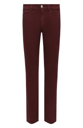 Мужские джинсы LORO PIANA бордового цвета, арт. FAG4511 | Фото 1