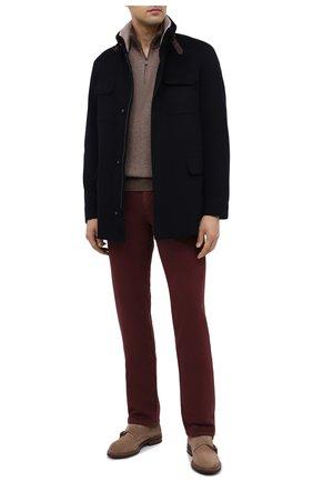 Мужские джинсы LORO PIANA бордового цвета, арт. FAG4511 | Фото 2