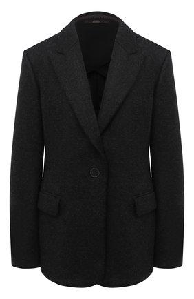 Женский шерстяной жакет WINDSOR черного цвета, арт. 52 DS424V 10009981 | Фото 1