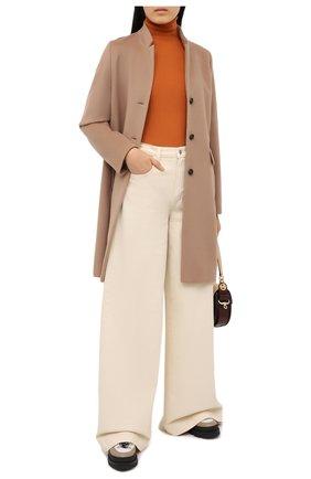 Женское пальто из шерсти и кашемира WINDSOR бежевого цвета, арт. 52 DM409 10009979 | Фото 2