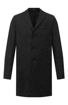 Мужской шерстяное пальто HARRIS WHARF LONDON темно-серого цвета, арт. C9101MGG | Фото 1