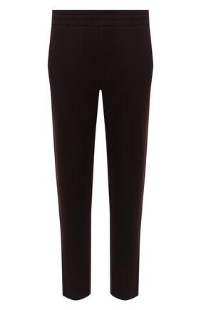 Мужские шерстяные брюки HARRIS WHARF LONDON бордового цвета, арт. C7015MYM | Фото 1 (Материал внешний: Шерсть; Длина (брюки, джинсы): Стандартные; Случай: Повседневный; Стили: Кэжуэл)