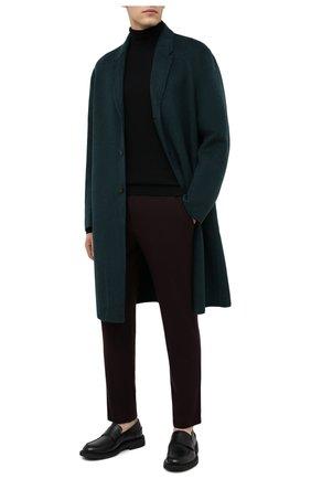 Мужские шерстяные брюки HARRIS WHARF LONDON бордового цвета, арт. C7015MYM | Фото 2 (Материал внешний: Шерсть; Длина (брюки, джинсы): Стандартные; Случай: Повседневный; Стили: Кэжуэл)