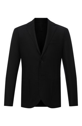 Мужской шерстяной пиджак HARRIS WHARF LONDON черного цвета, арт. C8B22MLX   Фото 1