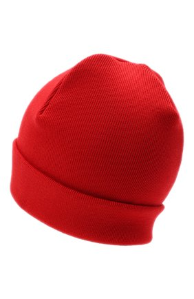 Женский шерстяная шапка OPENING CEREMONY красного цвета, арт. YWLC001E20KNI001 | Фото 2