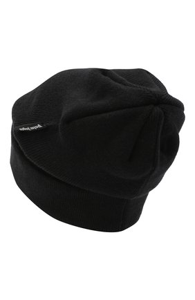 Мужская шерстяная шапка PALM ANGELS черного цвета, арт. PMLC012F20KNI0011001 | Фото 2