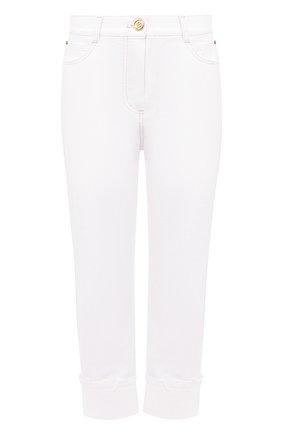 Женские джинсы BALMAIN белого цвета, арт. UF05701/D069 | Фото 1