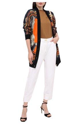Женские джинсы BALMAIN белого цвета, арт. UF05701/D069 | Фото 2