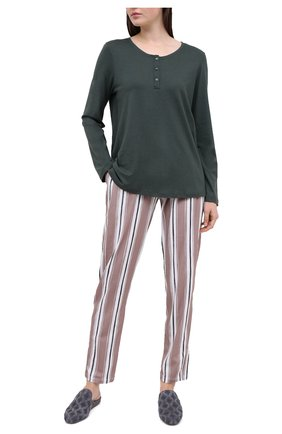 Женские брюки HANRO бежевого цвета, арт. 077882 | Фото 2