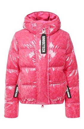 Женский пуховая куртка GOOSE TECH розового цвета, арт. GST.220.114.603 | Фото 1