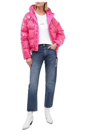 Женский пуховая куртка GOOSE TECH розового цвета, арт. GST.220.114.603 | Фото 2