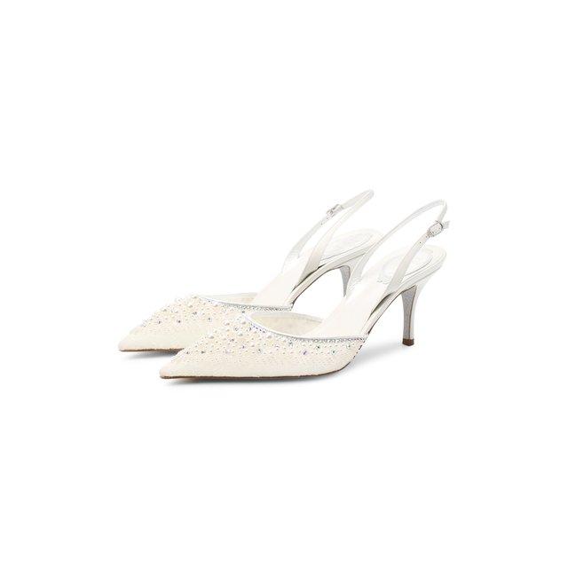 Комбинированные туфли Rene Caovilla