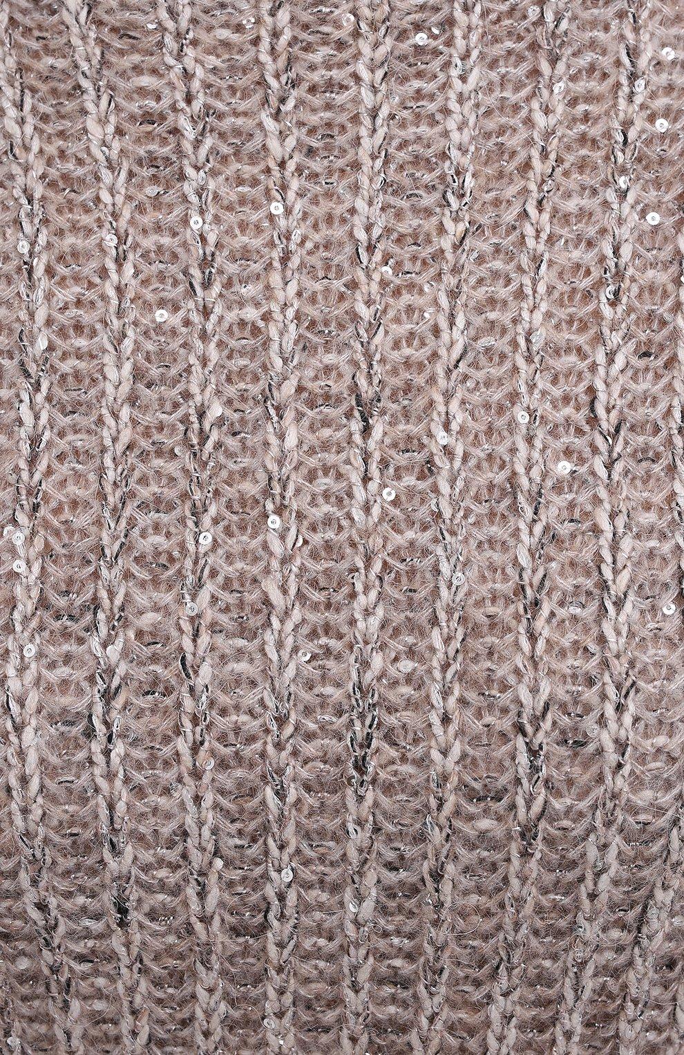 Женский пуловер D.EXTERIOR светло-серого цвета, арт. 51706 | Фото 5