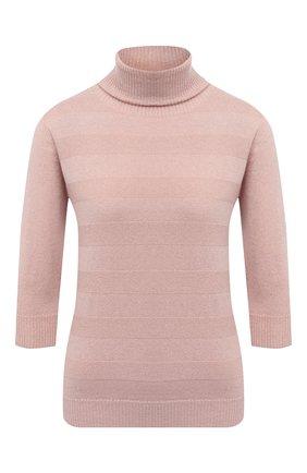 Женский пуловер D.EXTERIOR розового цвета, арт. 51173   Фото 1