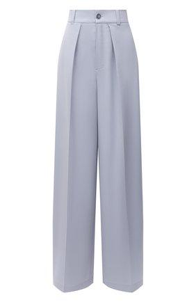 Женские шерстяные брюки LESYANEBO голубого цвета, арт. FW20/Н-412 | Фото 1