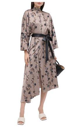 Женское платье JM STUDIO бежевого цвета, арт. FW202129 | Фото 2