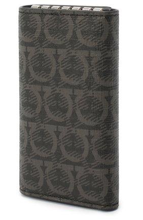Мужская футляр для ключей SALVATORE FERRAGAMO серого цвета, арт. Z-0716526 | Фото 2