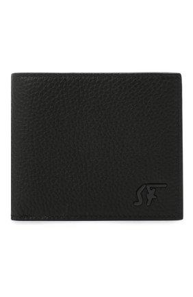 Мужской кожаное портмоне SALVATORE FERRAGAMO черного цвета, арт. Z-0733956 | Фото 1