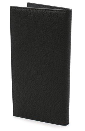 Мужской кожаное портмоне SALVATORE FERRAGAMO черного цвета, арт. Z-0733962 | Фото 2