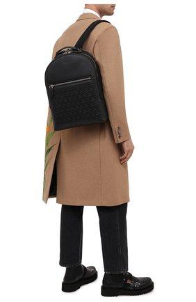 Мужской кожаный рюкзак SALVATORE FERRAGAMO черного цвета, арт. Z-0733145 | Фото 2