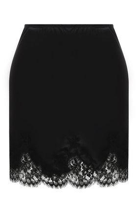 Женская юбка I.D. SARRIERI черного цвета, арт. L3000 | Фото 1