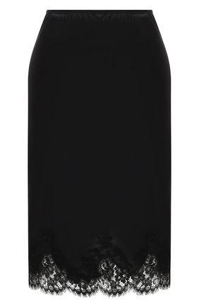 Женская юбка I.D. SARRIERI черного цвета, арт. L3050 | Фото 1