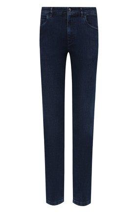 Мужские джинсы ZILLI синего цвета, арт. MCU-00030-EUDE1/R001 | Фото 1