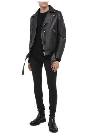 Мужские джинсы THOM KROM темно-серого цвета, арт. M T 57 | Фото 2