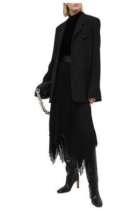 Женское боди из вискозы и шелка RALPH LAUREN черного цвета, арт. 290824542 | Фото 2