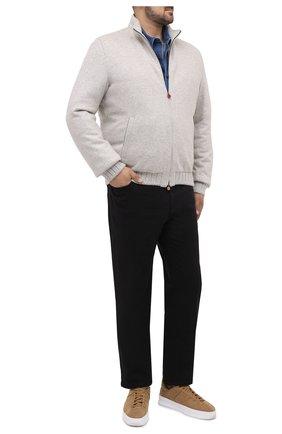 Мужские джинсы BRIONI черного цвета, арт. SPNJ0M/08T01/STELVI0 | Фото 2