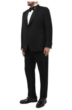 Мужской шерстяной смокинг BRIONI черного цвета, арт. RTI40Q/0ZA15/LISIDE | Фото 1