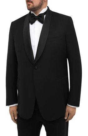 Мужской шерстяной смокинг BRIONI черного цвета, арт. RTI40Q/0ZA15/LISIDE | Фото 2