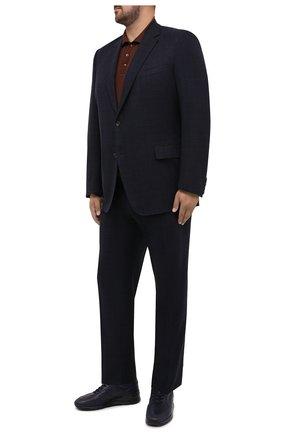 Мужской костюм из шерсти и кашемира CANALI темно-синего цвета, арт. T11280/10/BX02302/60-64 | Фото 1