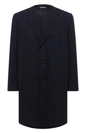 Мужской пальто из шерсти и кашемира CANALI темно-синего цвета, арт. 57118/FF02865/60-64 | Фото 1