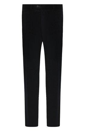 Мужской хлопковые брюки HILTL темно-синего цвета, арт. 74818/60-70 | Фото 1