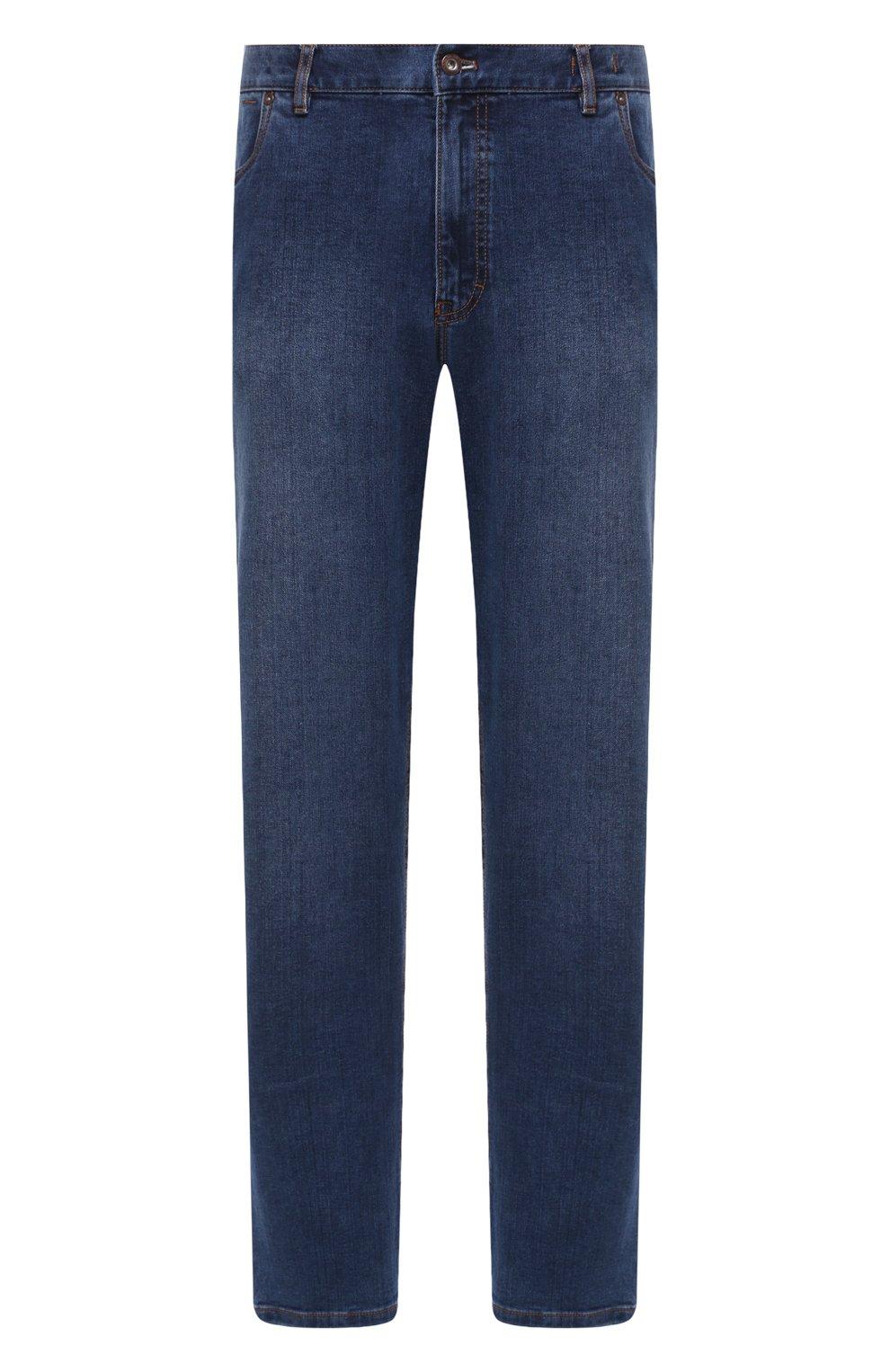 Мужские джинсы HILTL голубого цвета, арт. 74859/60-70 | Фото 1