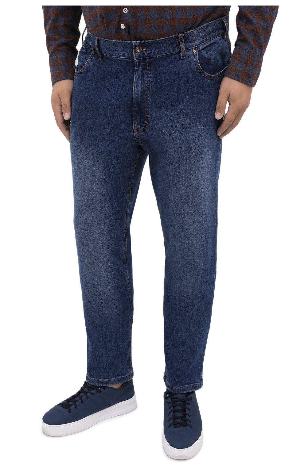 Мужские джинсы HILTL голубого цвета, арт. 74859/60-70 | Фото 3