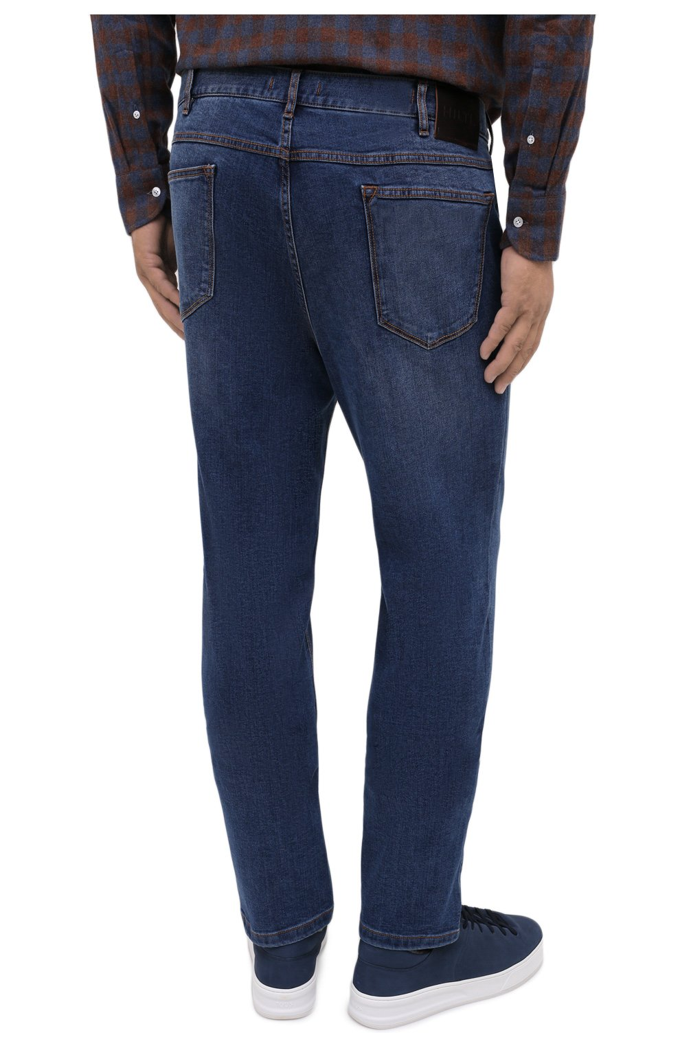Мужские джинсы HILTL голубого цвета, арт. 74859/60-70 | Фото 4