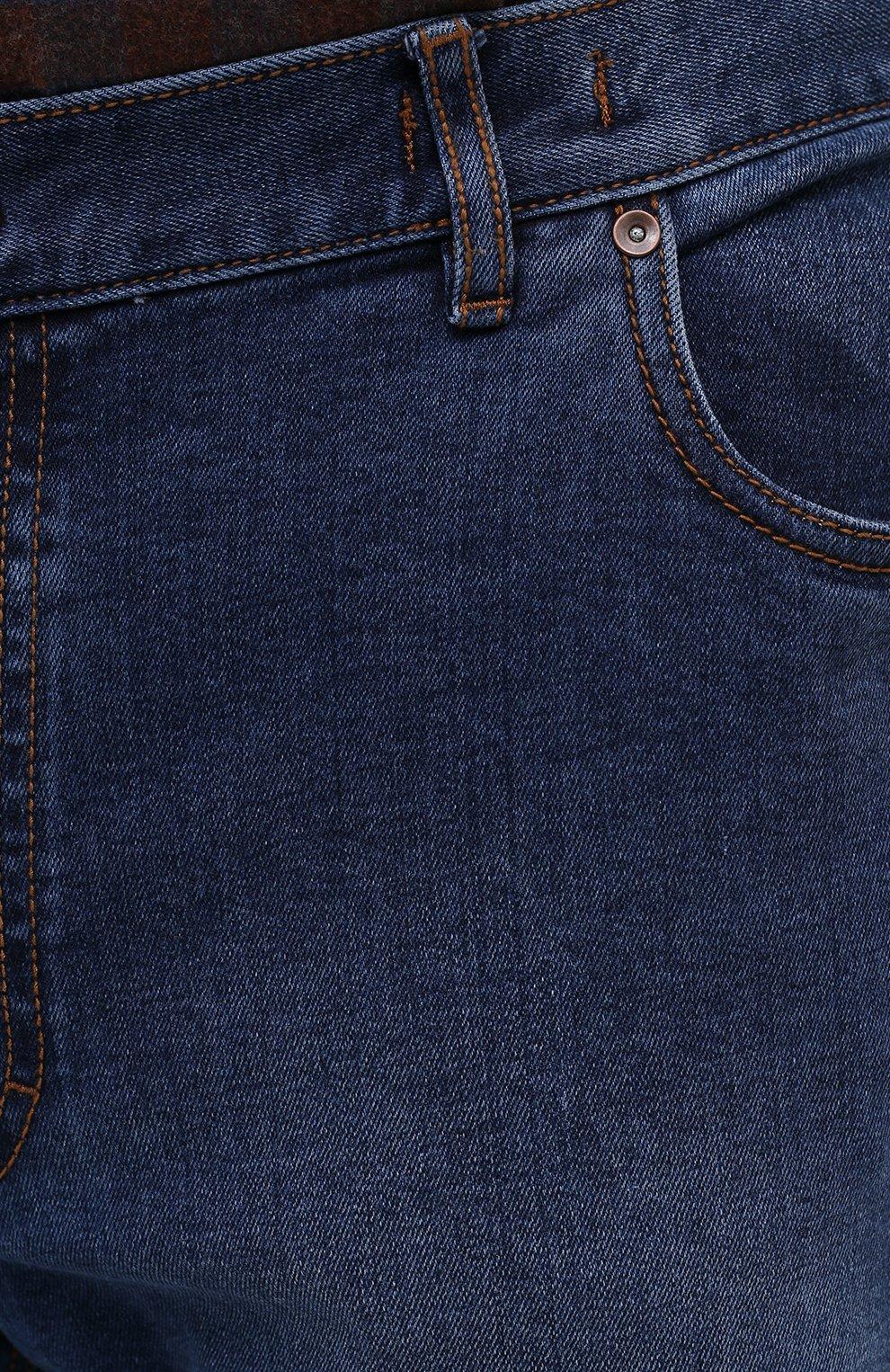 Мужские джинсы HILTL голубого цвета, арт. 74859/60-70 | Фото 5
