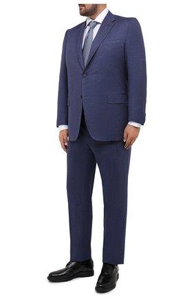 Мужской шерстяной костюм CANALI синего цвета, арт. 11280/10/BF01268/60-64 | Фото 1