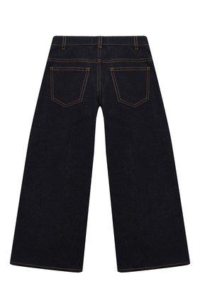 Детские джинсы FENDI синего цвета, арт. JFF203/A6IQ/3A-6A | Фото 2