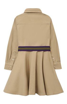 Хлопковое платье-рубашка | Фото №2