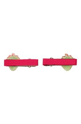 Детская комплект из двух заколок JUNEFEE разноцветного цвета, арт. 5164 | Фото 2