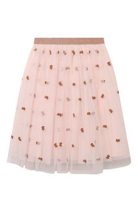 Детская юбка LANVIN розового цвета, арт. N13001 | Фото 2