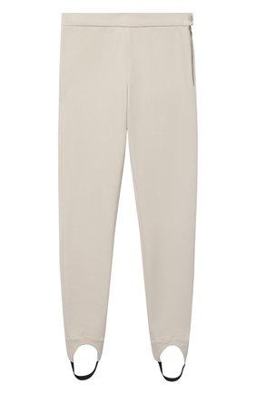 Детские хлопковые брюки LORO PIANA бежевого цвета, арт. FAL3724 | Фото 1 (Материал внешний: Хлопок; Девочки Кросс-КТ: Брюки-одежда)